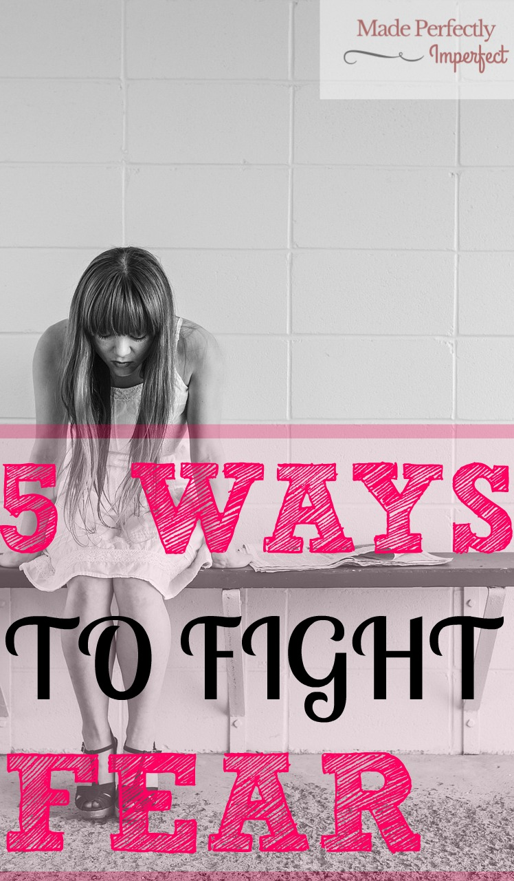 5 WAYS TO FIGHT FEAR. Stop living in fear today! Use these 5 ways to release you from the captivity fear has placed you in all this time.