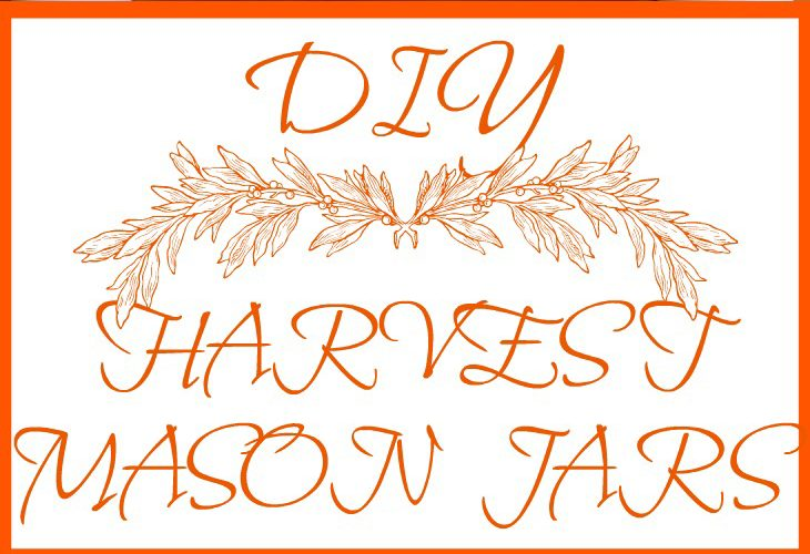 DIY HARVEST MASON JAR CENTERPIECE This beautiful collection of jars will be the perfect home fall decor everyone will love. Oh, and it's super easy. Have it done by dinner.